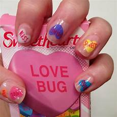 rhinestoned adventures valentine s day nails
