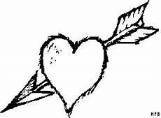 Malvorlagen Herz Mit Pfeil Herz Mit Pfeil 2 Ausmalbild Malvorlage Gemischt