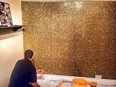 Gold Bronze Glitter Wall Amazing Glitter Paint For