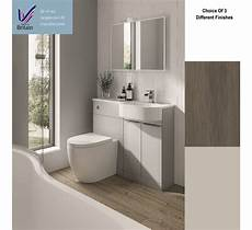 wooden finish wall unit combinations from elation p shape combination unit with back to wall toilet