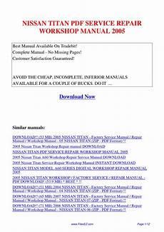 2004 nissan titan service repair manual download nissan titan service repair workshop manual 2005 by yang rong issuu
