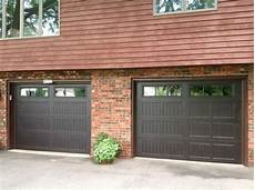 9 x 7 overhead garage 199v5 16ra2 9 x 7 thermacore door walnut finish with