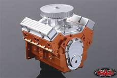 rc4wd 1 10 v8 scale engine
