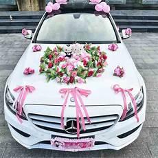 Wedding Car Decoration With Flowers