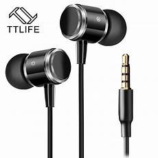 Type Wired Earphone Bass by Ttlife Original Jmf 3 5mm Wired Earphones Portable Line