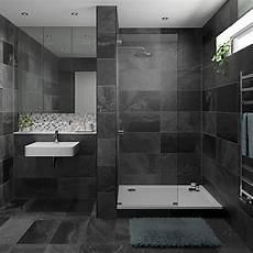 Wickes Black Slate Effect Tile 670 X 333mm Wickes Co Uk