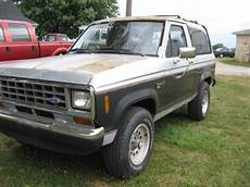 how cars run 1988 ford bronco transmission control sell used 1988 ford bronco ii 4x4 v6 5speed in norwalk ohio united states for us 2 600 00