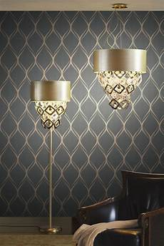 Feature Wall Decor Ideas luxe living room decor idea with a dreamy wallpaper