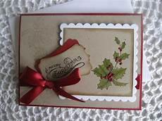 handmade greeting card vintage made to order