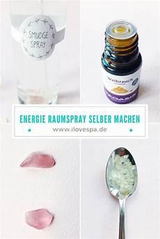 Diy Smudge Spray Raumspray Zum Kl 228 Ren Energien