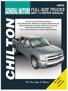 hayes car manuals 2012 chevrolet tahoe on board diagnostic system gm avalanche silverado sierra suburban tahoe yukon chilton repair manual 2007 2014