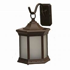 sconce hook frosted glass solar lantern sl stfg the home depot