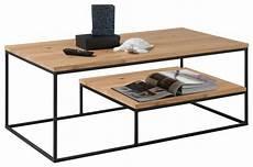 Couchtisch Industrial Style Holz Und Metall