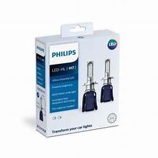white light philips h7 led headlight bulb rs 3600 set