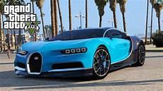 Bugatti In Gta by Gta 5 Gta V Mods Bugatti Chiron Vision Tuning Add