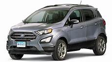2018 ford ecosport review consumer reports