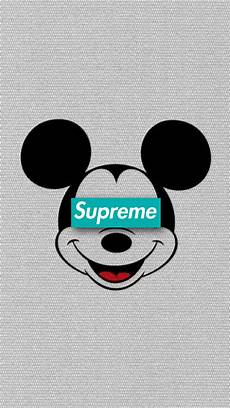 Mickey Mouse Wallpaper Supreme by Liftedmilesog Supreme ディズニーの使える壁紙 ミッキーマウス 漫画の壁紙