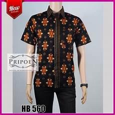 kemeja batik songket baju batik pria hb 560 pripoen batik pekalongan baju batik pekalongan