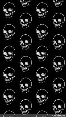 Iphone Black Whatsapp Wallpaper by White Line On Black Skulls Whatsapp Wallpapers Skull