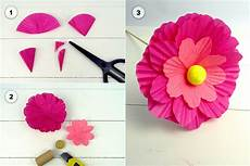Tischdeko Frühling Basteln - papierblumen als tischdeko f 252 r den fr 252 hling familie de