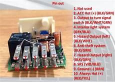 7 Pin Hazard Switch Wiring by 2001 A6 Blinker Solid Turn Signal Solid Hazard Switch