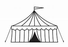 malvorlage zirkuszelt kostenlose ausmalbilder zum