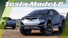 tesla model p truck by husmen