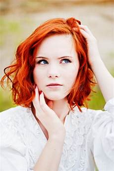 young girl with red hair stock photo image of forest beautiful young girl with red hair stock photo image of grace graceful 20240324