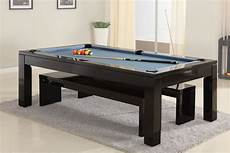 The Solid Wood 7ft Slate Bed Pool Dining Table