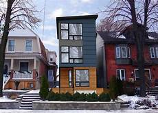 narrow lot modern infill house plans at only 15 9 quot wide the toronto 3 story design is ideal
