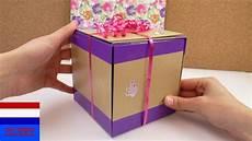 zelf cadeaudoos maken diy verjaardagscadeau mooi
