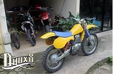 Thunder Modif Trail by Tangki Knalpot Kustom Suzuki Thunder 125 Modifikasi Trail