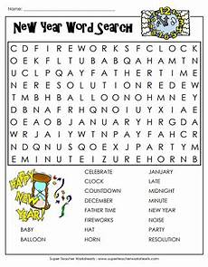 happy new year worksheets third grade new year worksheet word search worksheets new year words fun summer activities