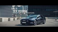 2018 Opel Insignia Advert