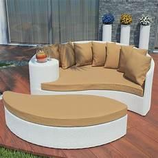 brayden studio greening outdoor daybed with ottoman