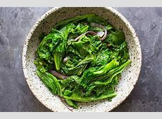 asian mustard greens recipe