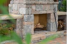 Schornstein Bausatz Stein - wood boxes kit makes upgrading your outdoor fireplace