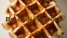 Belgian Waffles Recipe Bruno Albouze The Real Deal