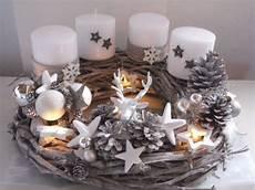 adventkranz weihnachten shabby advent kugeln unikat