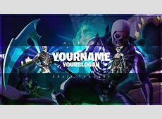 Skull Trooper Youtube Banner   Fortnite Channel Art
