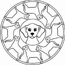 ausmalbilder mandala hunde ausmalbilder
