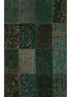 tapis vert foncé tapis multi vert fonce de la collection de porteere deco
