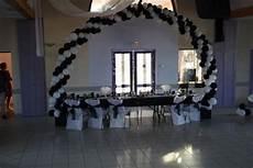 deco noir et blanc occasion du mariage