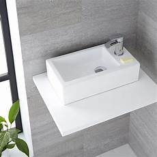 lavandino bagno rettangolare lavabo bagno da appoggio in ceramica rettangolare