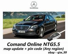 Mercedes Comand Ntg5 5 Map Update Pin Code Any