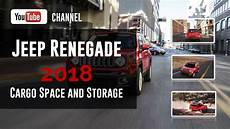 2018 Jeep Renegade Cargo Space And Storage Review