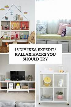 ikea kallax diy 15 diy ikea kallax shelves hacks you could attempt decor10