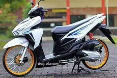 Modif Vario 110 Sederhana by Modifikasi Vario 125 Minimalis Sederhana Motorcycle