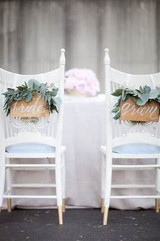 diy wooden and groom chair sign decor ideas wedding chair decorations wedding sign