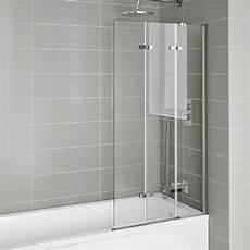 Duschabtrennung Badewanne Glas - 800x1400mm modern right luxury folding 6mm bath